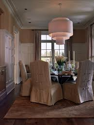 Amazing Christmas Chair Cover Ideas Enchanting Traditional Dining Room Pretty