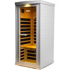 tylo premium 1 person far infrared carbonflex white sauna