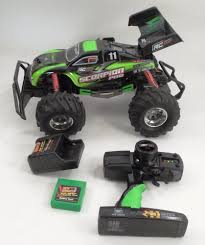 VGUC New Bright Scorpion Pro Remote Control RC Car Vehicle Green W ... New Bright 124 Scale Rc Monster Jam Grave Digger Shop Your Way Amazoncom 61030g 96v Car Review Youtube 1530 Pops Toys Gizmo Toy Rakuten 143 Remote Control The Pro Reaper Is Chosenbykids And This Mom Money Truck Unboxing Trucks New Bright Automobilis D2408f 050211224085 Knygoslt Ff Maxd 110 Buy Black Vehicle Max Din Brutus 1 8 Play In All Terrain Powerful