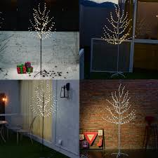 3ft Pre Lit Blossom Christmas Tree by 1 2m 2 5m Pre Lighted Cherry Blossom Led Tree Light Floor Lamp