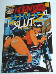 Horny Biker Slut Comics #1. Adults Only Comic .: Amazon.co.uk: John ...