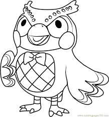 Blat Good Animal Crossing Coloring Pages