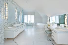 Modern Master Bedroom With Bathroom Design Trendecors Contemporary Master Bedroom Ensuite Bath Contemporary