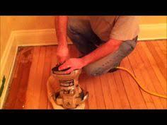 Applying Polyurethane To Hardwood Floors Youtube by How It U0027s Done Sanding Staining Varnishing Hardwood Floor