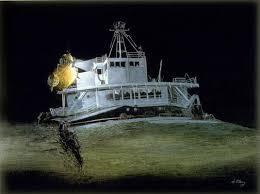 Edmund Fitzgerald Sinking Location by Edmund Fitzgerald Shipwreck S S Edmund Fitzgerald Naufragio
