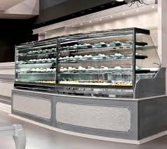Refrigerated Counter Display Case For Pastry Shops Bakeries DIAMOND Oscartek