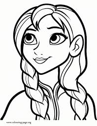 Frozen Coloring Pages Free Printable 253851