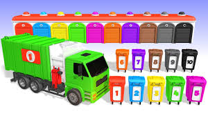 Youtube Garbage Trucks Colors - Ebcs #632f582d70e3