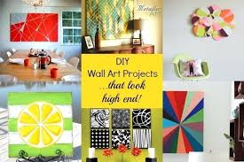 Diy Art Projects High End Wall To Do At Home