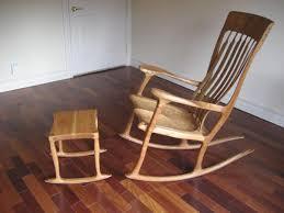 Maloof Inspired Rocking Chair And Stool Talkfestool | Beauty ...