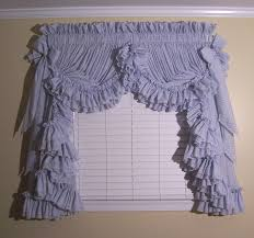 Blue Kitchen Curtains Walmart decoration jabot curtains for vintage and romantic look will make