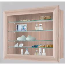 Bora 10 Wall Mounted Display Cabinet Shelving Ideal For Collectibles