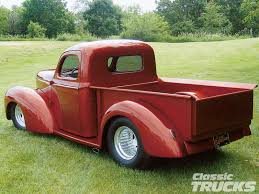 100 1941 Willys Truck Willys Pickup Rear Pickup Bed