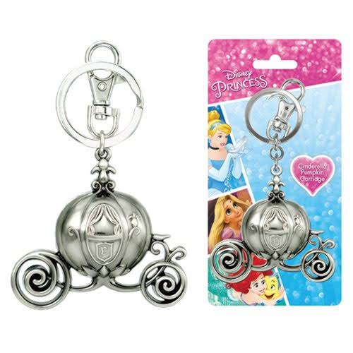 Cinderella Carriage Pewter Key Ring