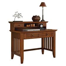 Sauder Graham Hill Desk Autum Maple Finish by Arts And Crafts Cottage Oak Student Desk And Hutch Walmart Com