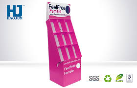 Promotion Product Shelves POP Custom Cardboard Display Stand For Retail Store