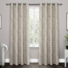 floral curtains drapes you ll love wayfair