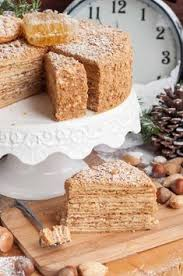 New Years Honey Cake