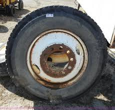 100 Used Truck Tires 4 Used 245 Truck Tires With Rims Item 2161 SOLD Apri