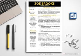 Modern Resume Template Zoe Brooks - BestResumes Editable Professional Resume Template 2019 Cover Letter Office Word Simple Cv Creative Modern Instant Download Jasmine Examples Our Most Popular Rumes In Templates Pdf And Free Downloads Design For 11 Amazing It Livecareer Gain Resumekraft For Guide Heres What A Midlevel Professionals Should Look Like Zoe Brooks Btrumes Sample Midlevel Help Desk