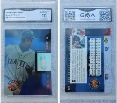 1990 Upper Deck Ken Griffey Jr by 1990 1994 Graded Baseball Trading Cards For Sale Baseball Cards