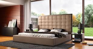 Platform Bedroom Set by Modloft Ludlow 4 Piece Platform Bedroom Set In Wenge And Taupe