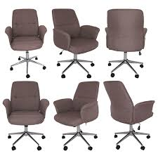 Fabric Office Chair Soapp Culture Wooden Desk Furniture Collections
