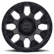 100 Helo Truck Wheels 19992019 F250 F350 20x9 878 Satin Black Wheel 12mm Offset