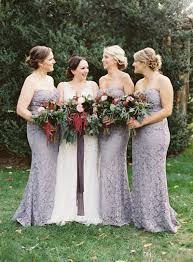 Fancy Lace Light Gray Bridesmaid Dresses 2017 Country Wedding Guest