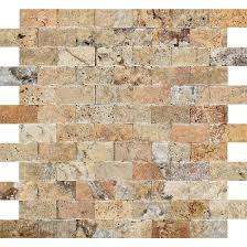 Valencia Scabos Travertine Tile by Split Faced Tilephile