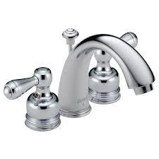 mini widespread faucet delta 4530 lhp two handle mini widespread lavatory faucet