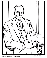 Free Printable President Ulysses S Grant Coloring Pages