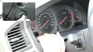 How to reset the service light in Volvo S60 First Generation