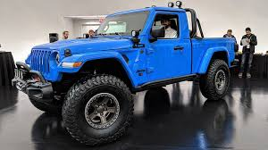 100 4 Door Jeep Truck A Two Gladiator Pickup Wont Be Happening Anytime