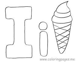 Letter Coloring Page Pages Preschool Crafts Images Alphabet Sheets Free D