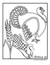 Harvest Corn Coloring Pages
