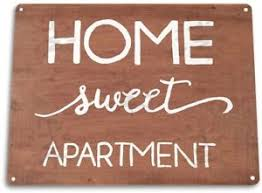 Home Sweet Apartment Sign Decorating Ideas