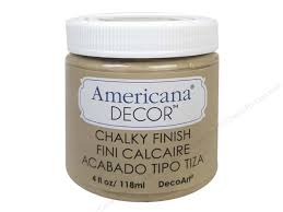 Americana Decor Chalky Finish Paint Colors by Decoart Americana Decor Chalky Finish 4 Oz Heirloom Createforless