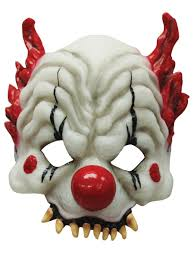 Funny Halloween Half Masks by Clown Masks Partynutters Uk