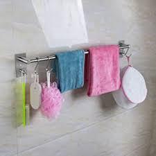 handtuchhalter holz zur auswahl edelstahl haken badezimmer