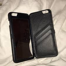 44% off Accessories iphone 6 6s plus wallet mirror case from
