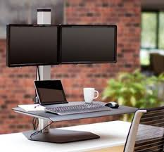Multiple Monitor Standing Desk by 10 Best Multi Monitor Solutions Images On Pinterest Innovative
