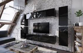 Anbauwand Wohnzimmer Mã Bel Wohnwand Mundi Wohnzimmer Schrankwand Tv Schrank Hochglanz Anbauwand Tv Möbel