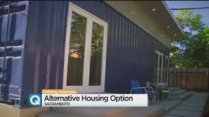 100 House Storage Containers Used As Homes In Sacramento CBS Sacramento