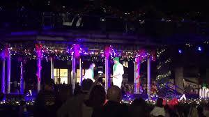 Fashion Island Christmas Tree Lighting With Ellen K Mario Lopez