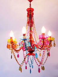 Zspmed Of Colorful Chandelier