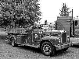Radnor Fire Company's 1954 Mack B-75 Open Cab Fire Truck | Flickr