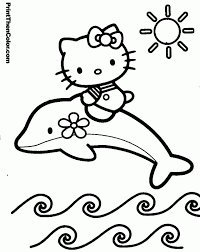Hello Kitty Coloring Pages For Halloween Princess