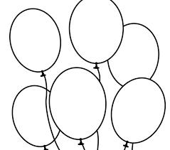 Balloon Coloring Pages Freecoloringbookpages 10 Balloons For Kid