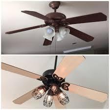 Ceiling Fan Uplight Bulbs by Best 25 Ceiling Fan Makeover Ideas On Pinterest Ceiling Fan